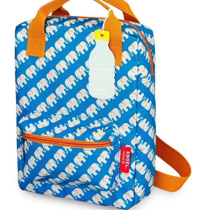 Engel Zaino Elephant Blue Small-0