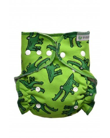 T-Tomi fitted Crocodiles bottoni-0
