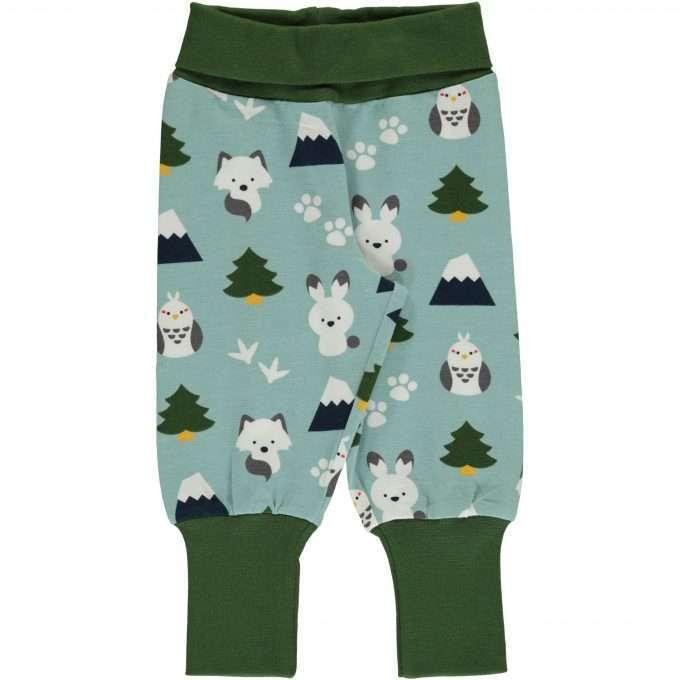 Maxomorra Pants rib Pantaloni Winter World-0