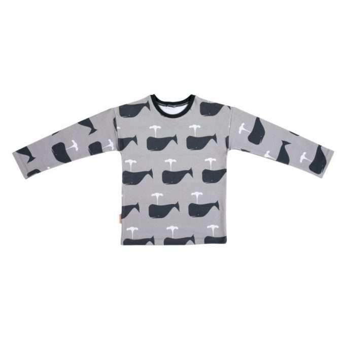 Malinami maglietta maniche lunghe Whale-0