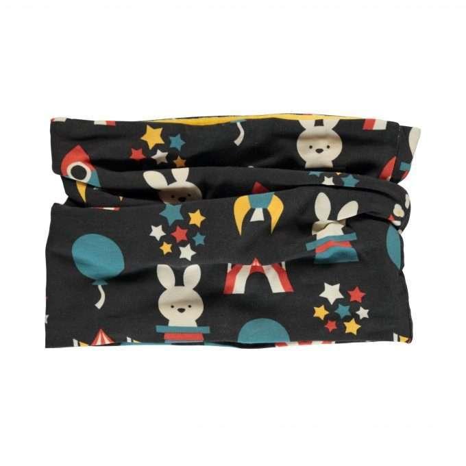 Maxomorra sciarpa ad anello/ scarf tube velour Fun Park-0