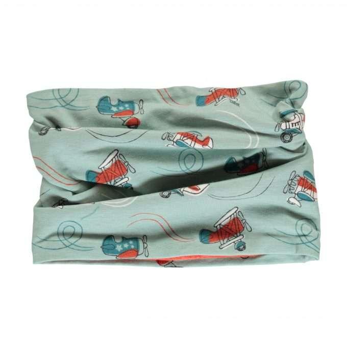 Maxomorra sciarpa ad anello/ scarf tube velour Air Show-0