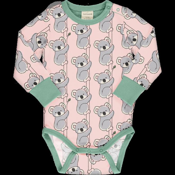 Maxomorra Body Manica Lunga Koala-0