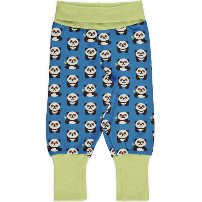 Maxomorra Pants rib Pantaloni Playful Panda-0