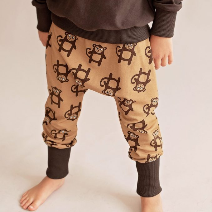 Malinami Pantaloni Baggy Monkey-0