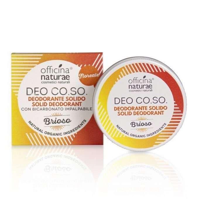 Officina Naturae Deodorante Solido Co.So. Brioso -0