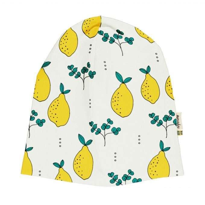 Maxomorra Meyaday Berretto / Cappello Leafy Lemon-0