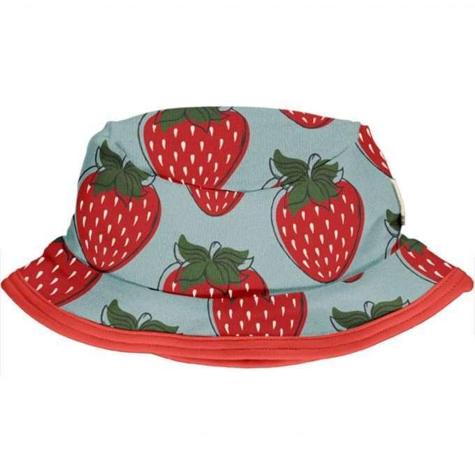 Maxomorra Berretto / Cappello da sole Strawberry-0