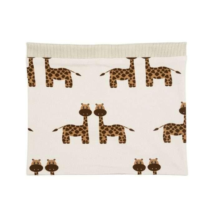 Malinami Sciarpa ad anello Giraffe-0