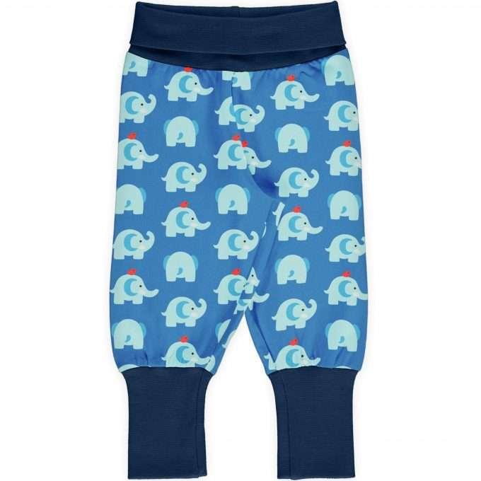 Maxomorra Pants rib Pantaloni Elephant Friends-0