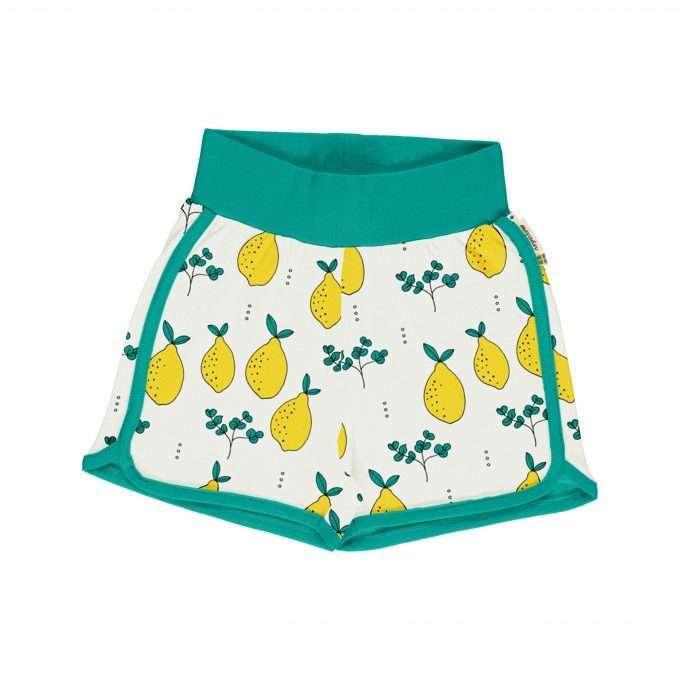 Maxomorra Meyaday Pantaloncini Leafy Lemon-0