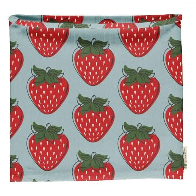 Maxomorra sciarpa ad anello/ scarf tube Strawberry-0