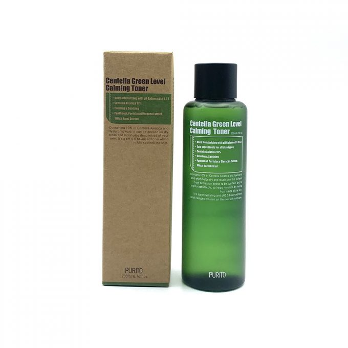 Purito Calming Toner Centella Green Level Tonico Viso-0