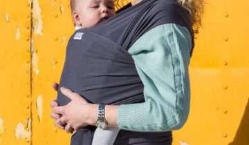 La fascia elastica per portare i bambini