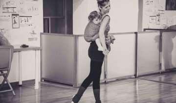 Il babywearing e la danza  Cuore a Cuore di Elena