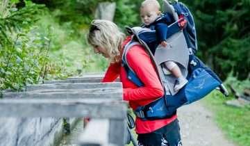 Marsupio o zaino da montagna per portare i bambini?